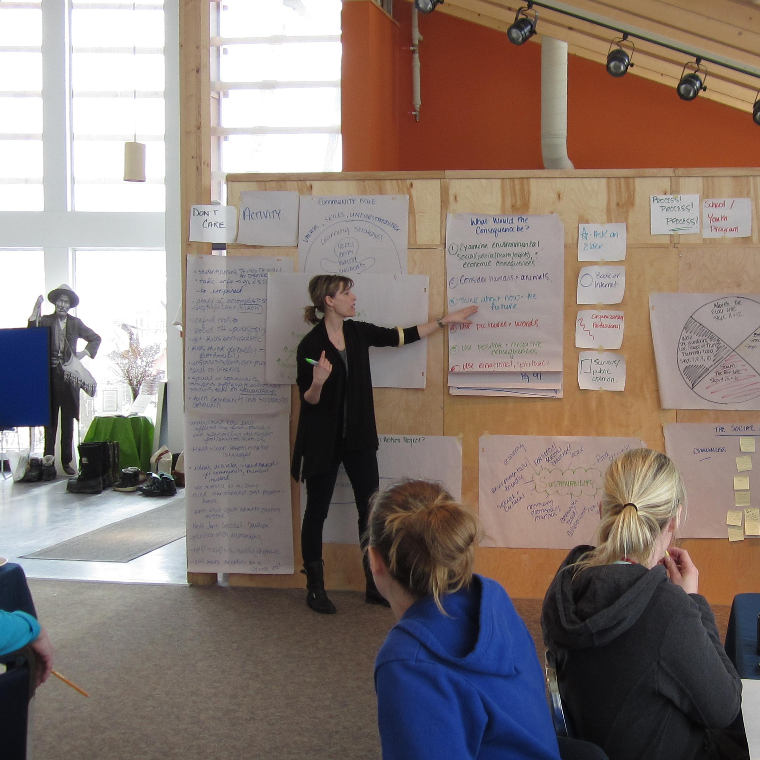 Training Educators in Dawson, Yukon 2014