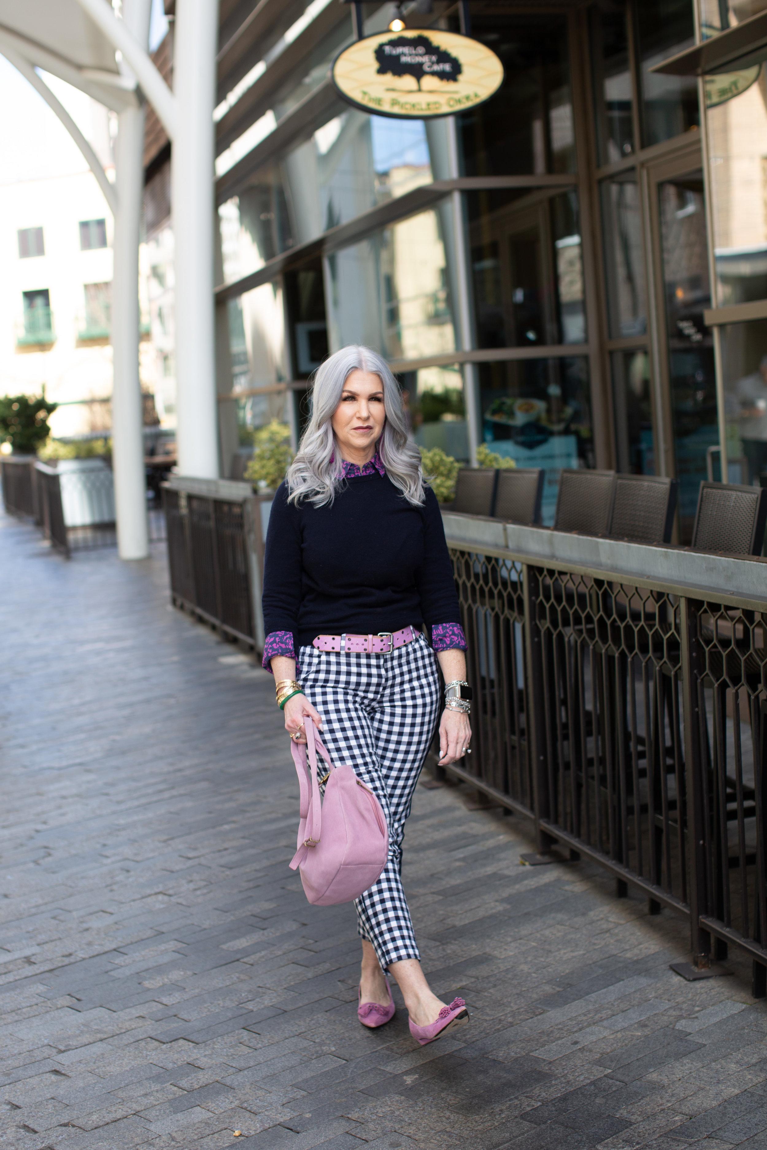 Lisa Hale gingham pants greenville 2019-1.jpg