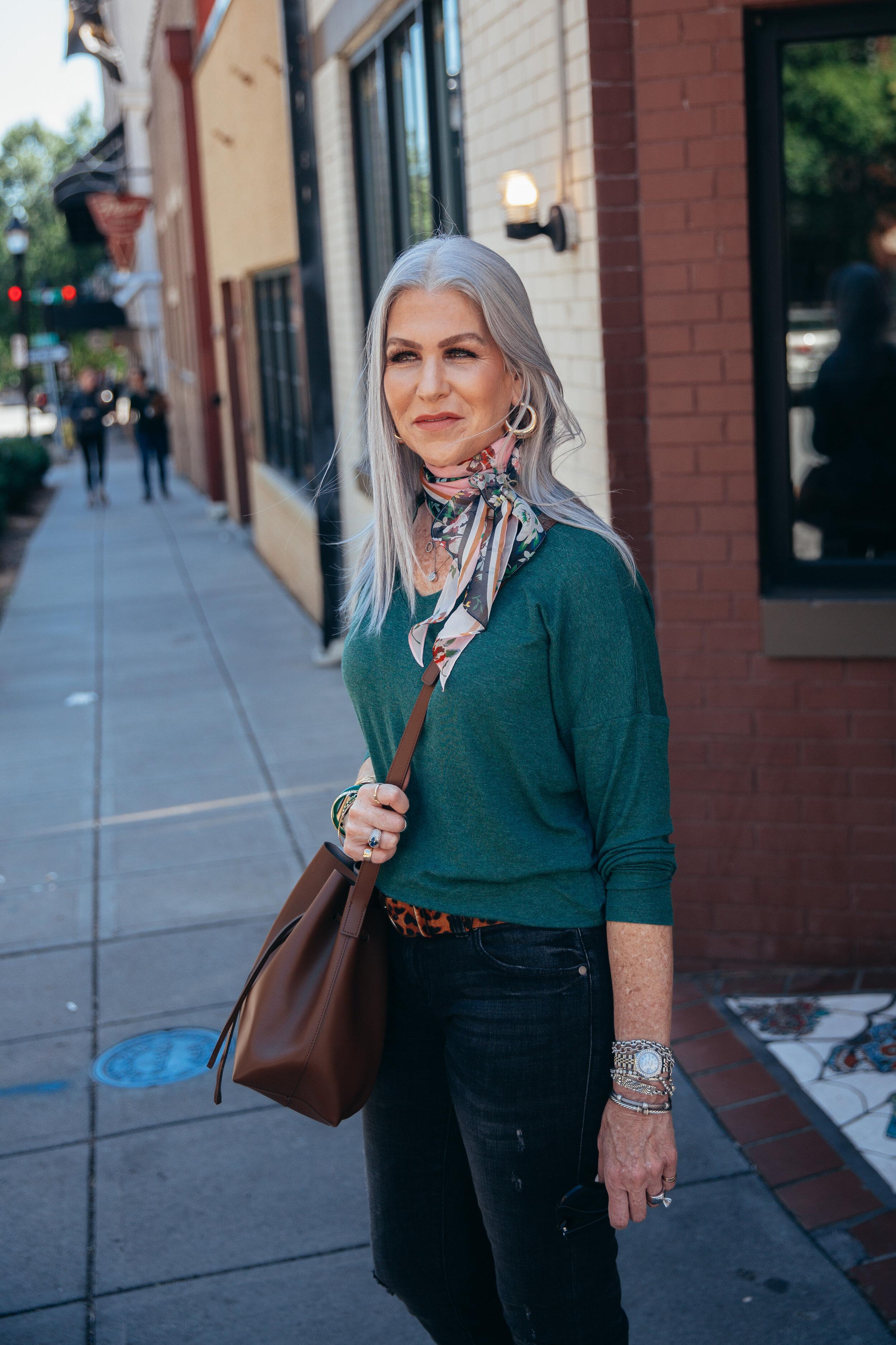Lisa green sweater Cabi september 2019-2.jpg
