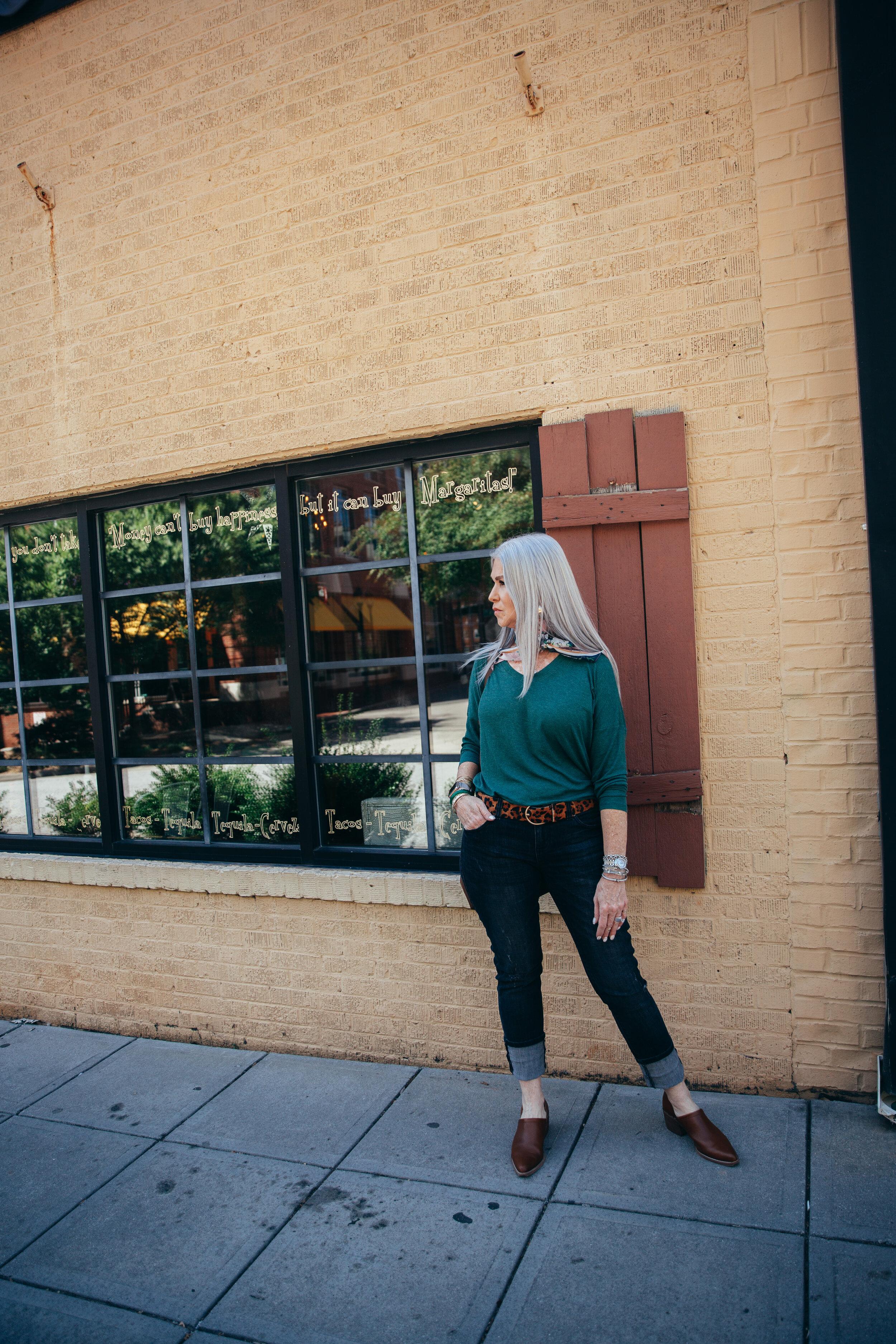 Lisa green sweater Cabi september 2019-8.jpg