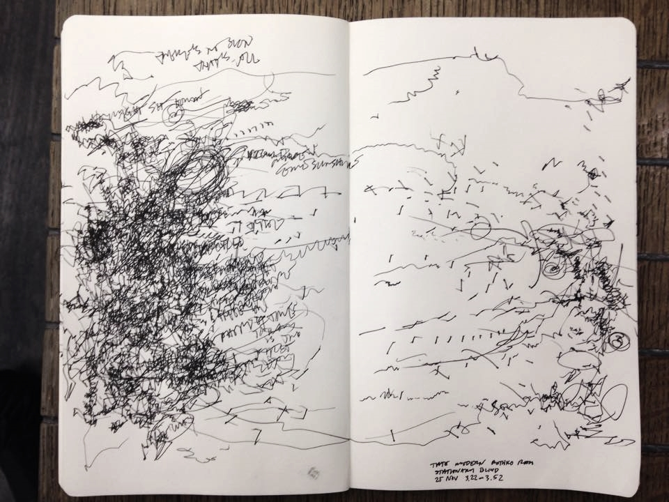 Turbine Hall, Tate Modern, 2:47 - 3:07pm, 25 November 2014