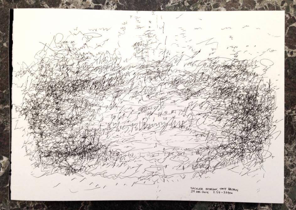 Sackler Octagon, Tate Britain, 2.37pm - 3.07pm, 29 December 2014
