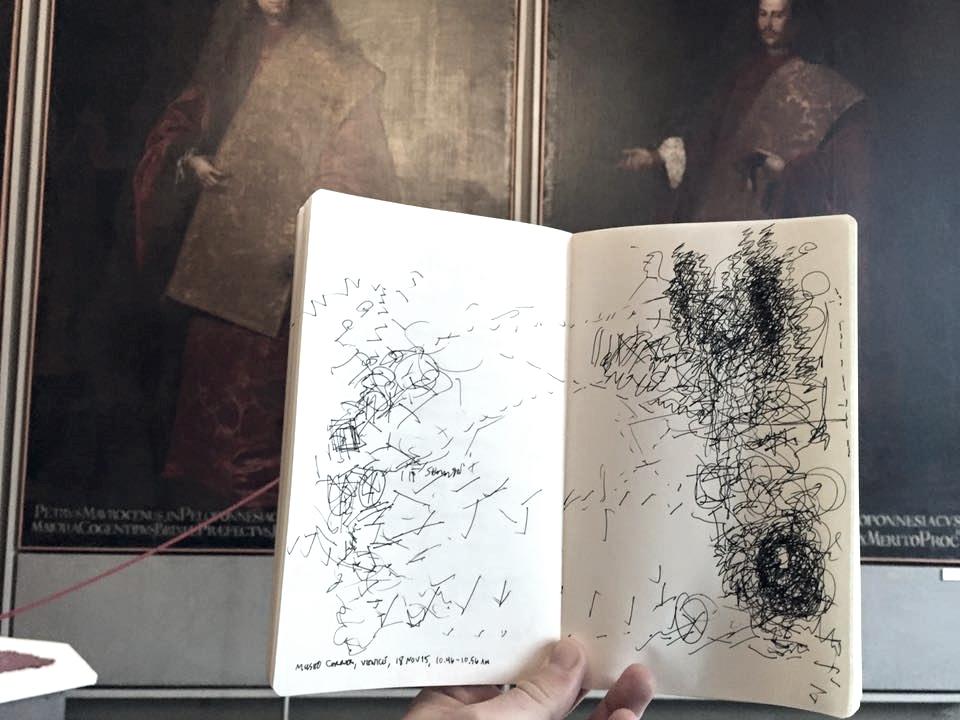 Museo Correr, San Marco, Venice, 10.46 - 10.56am, 18 November 2015