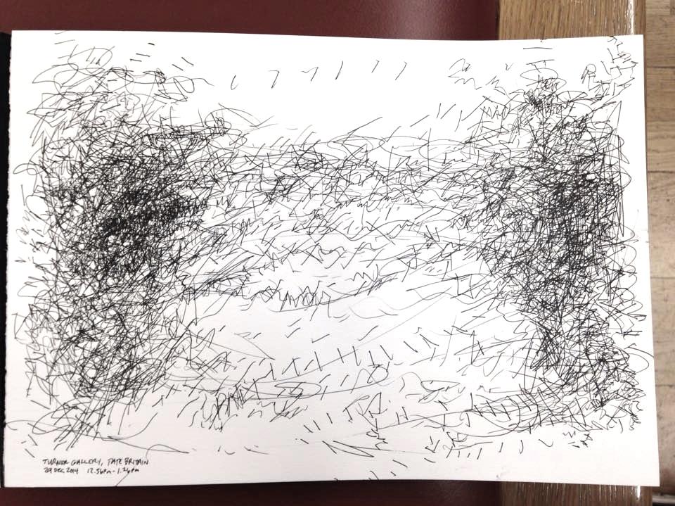Turner gallery, Tate Britain, 12.56pm - 1.26pm, 29 December 2014