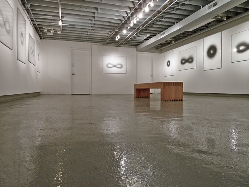 The exhibition at Work Gallery