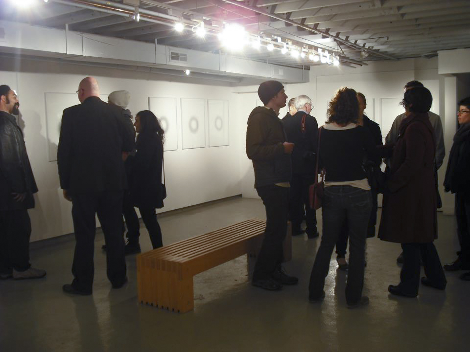 Opening reception, Work Gallery