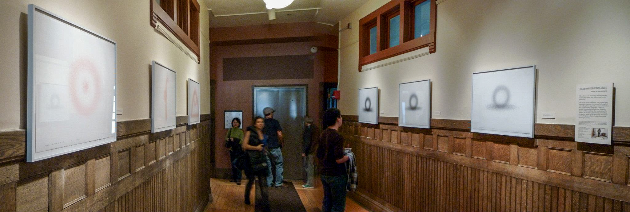 The exhibition installed in the Kelsey Museum of Archaeology.