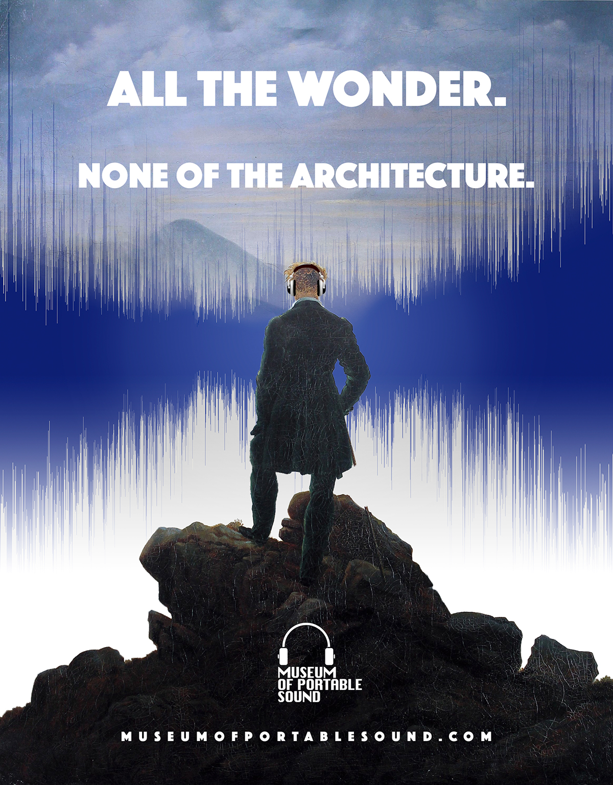 All the wonder. None of the Architecture. (Promotional poster)