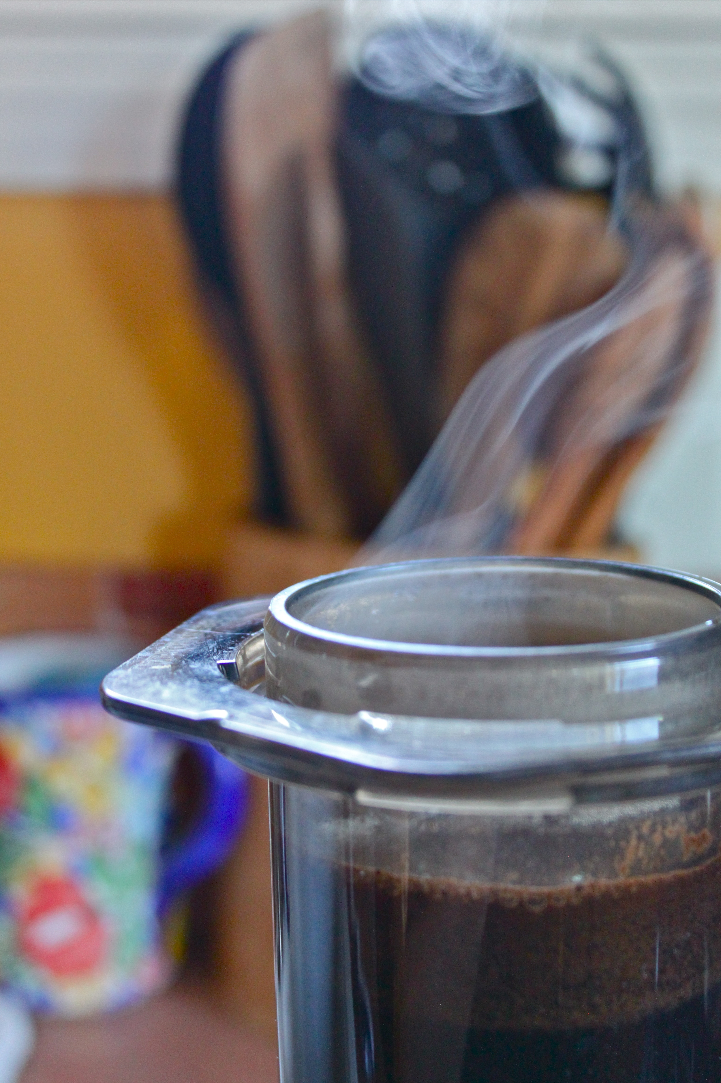 coffee coconut green shake