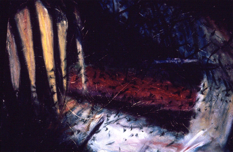 Dead Tree Graveyard Series #8, DETAIL