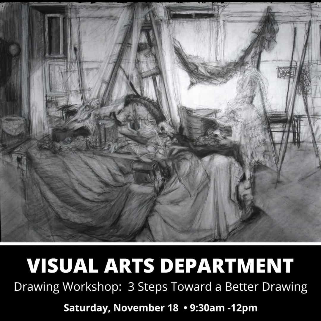 Drawing by Molly Block (Visual Arts '18)