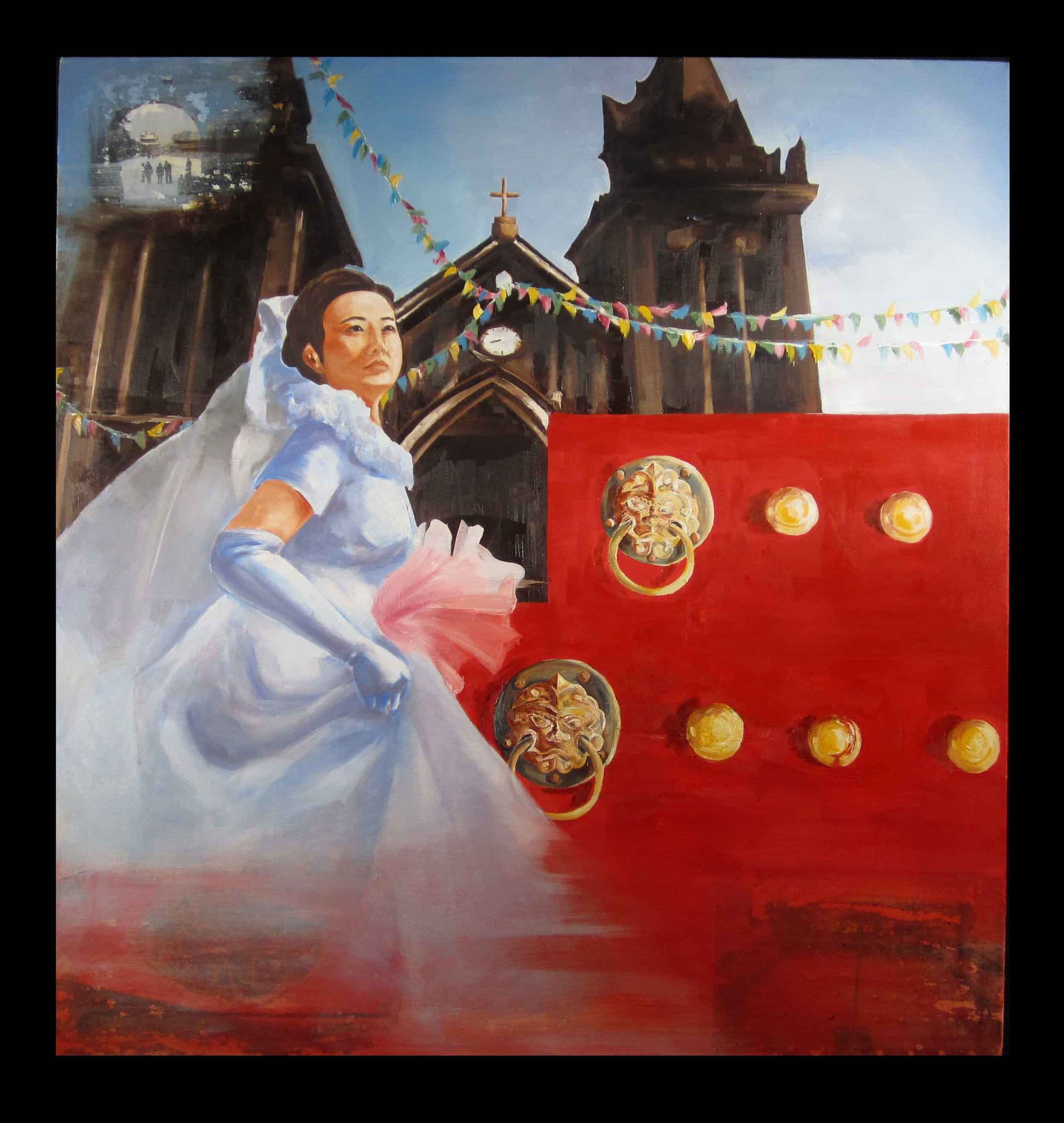 Mom's Wedding   Cara Fan Visual Arts '19