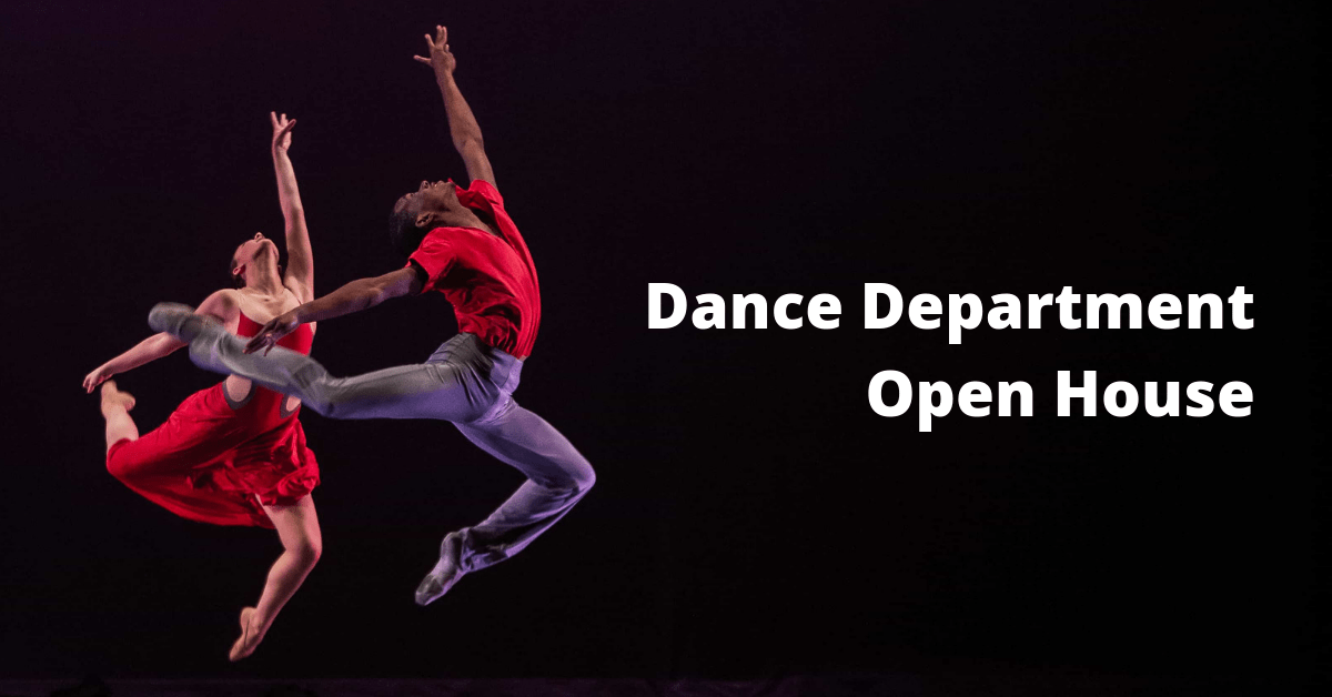 Dance Department Open House 2019 - 1.png