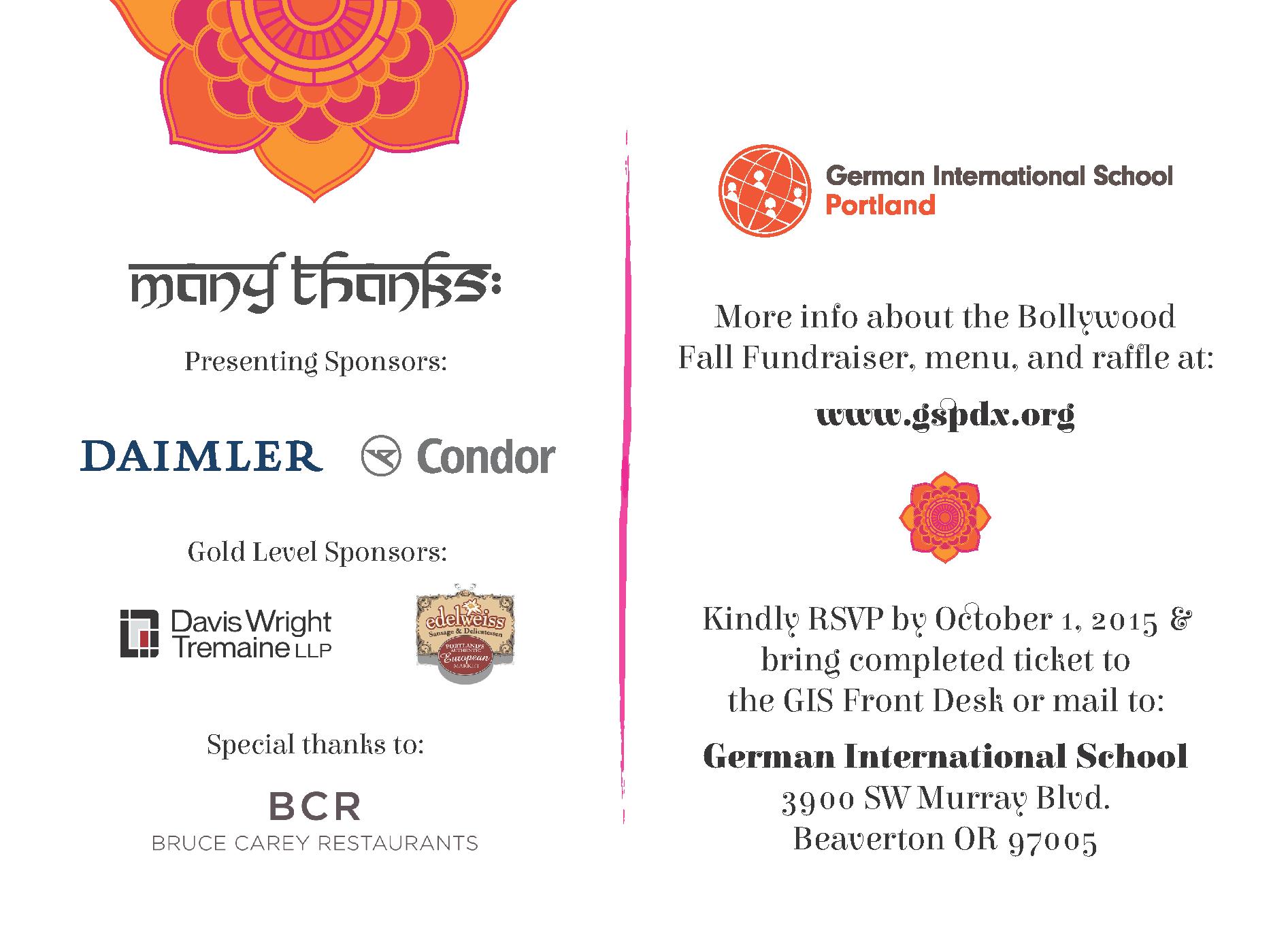 Bollywood Fundraiser invitation_back
