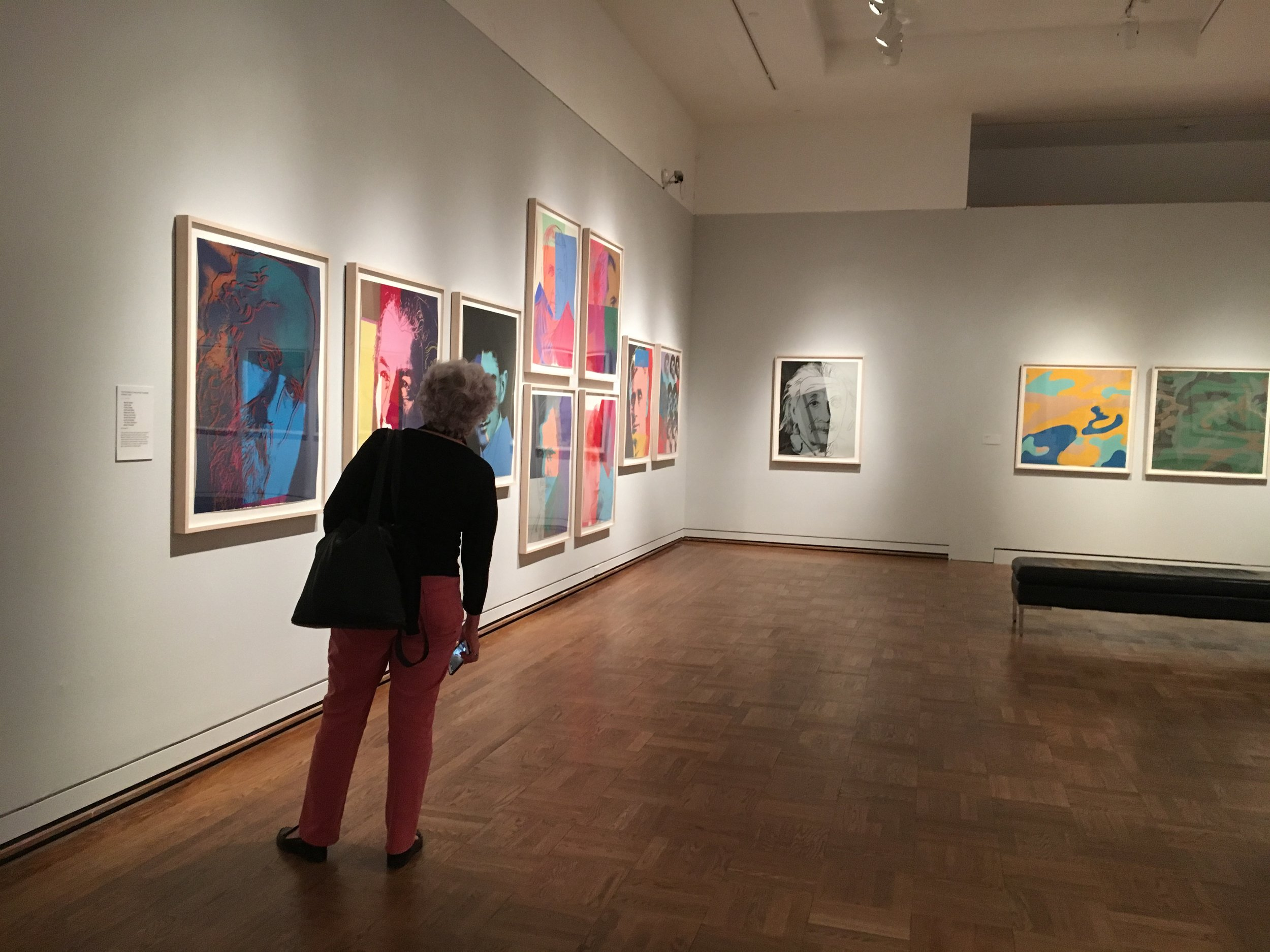 Andy-Warhol-Exhibition_Portland-Art-Museum_Looking