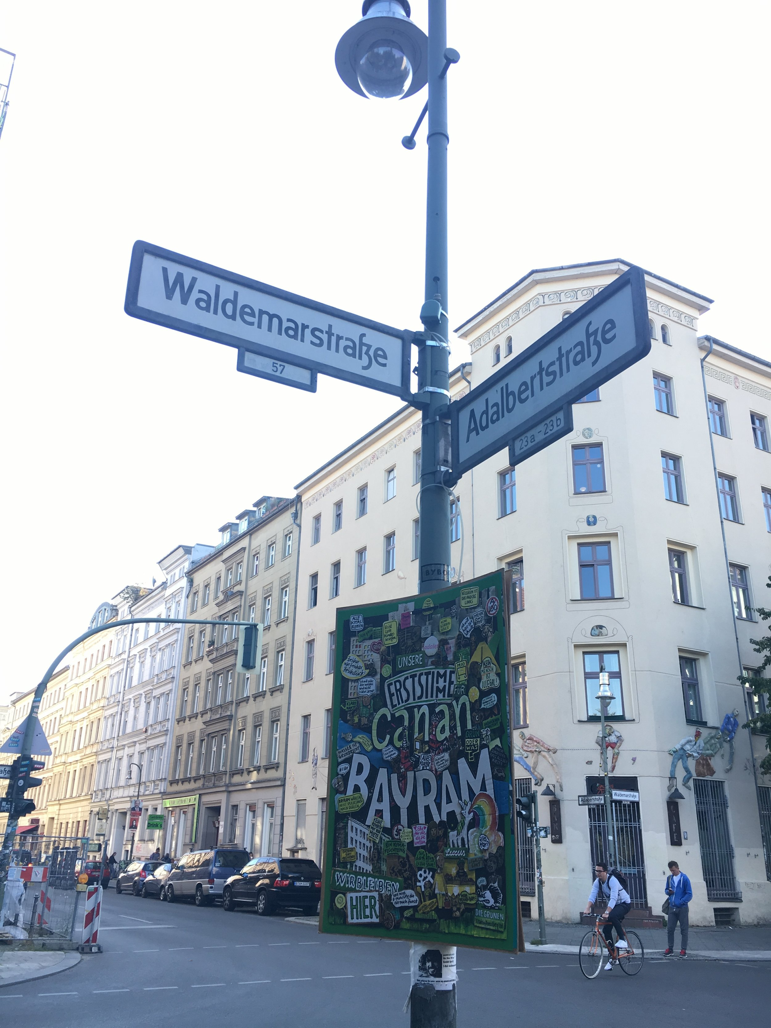 Kreuzberg-Berlin-Waldemarstrasse-Adalbertstrasse