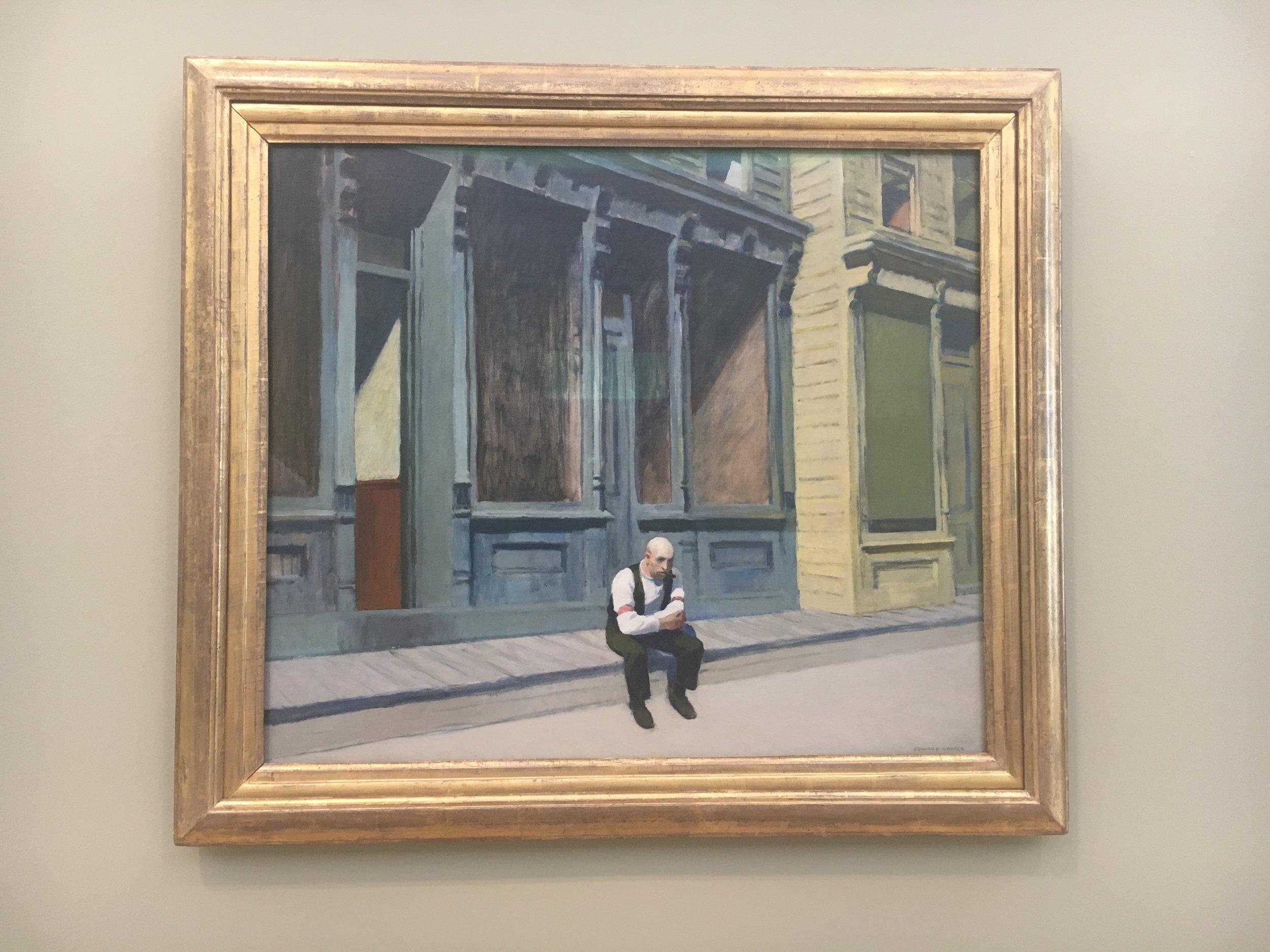 Edward Hopper,  Isolation