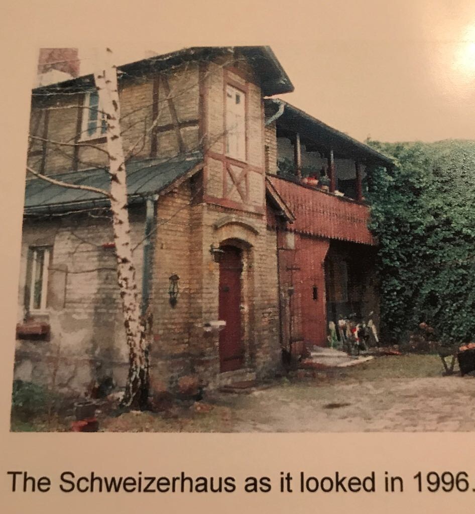The Schweizerhaus as it looked in 1996 when visiting Uropa.