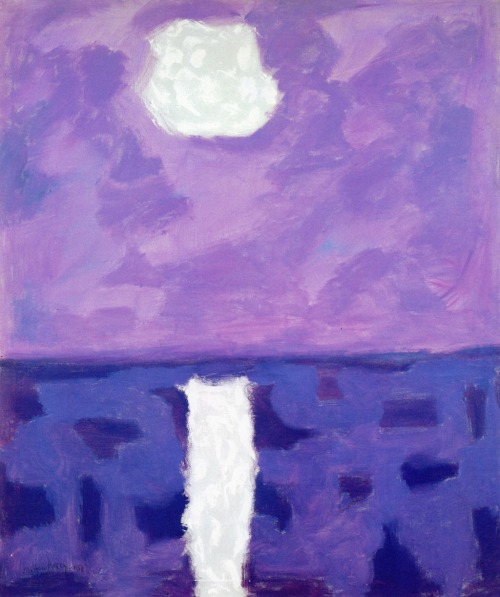 Moon Path , Milton Avery, 1958