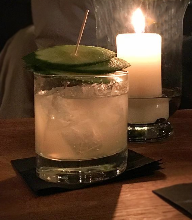 Neue Odessa   London Mule  - A Mule with Gin and Cucumber.