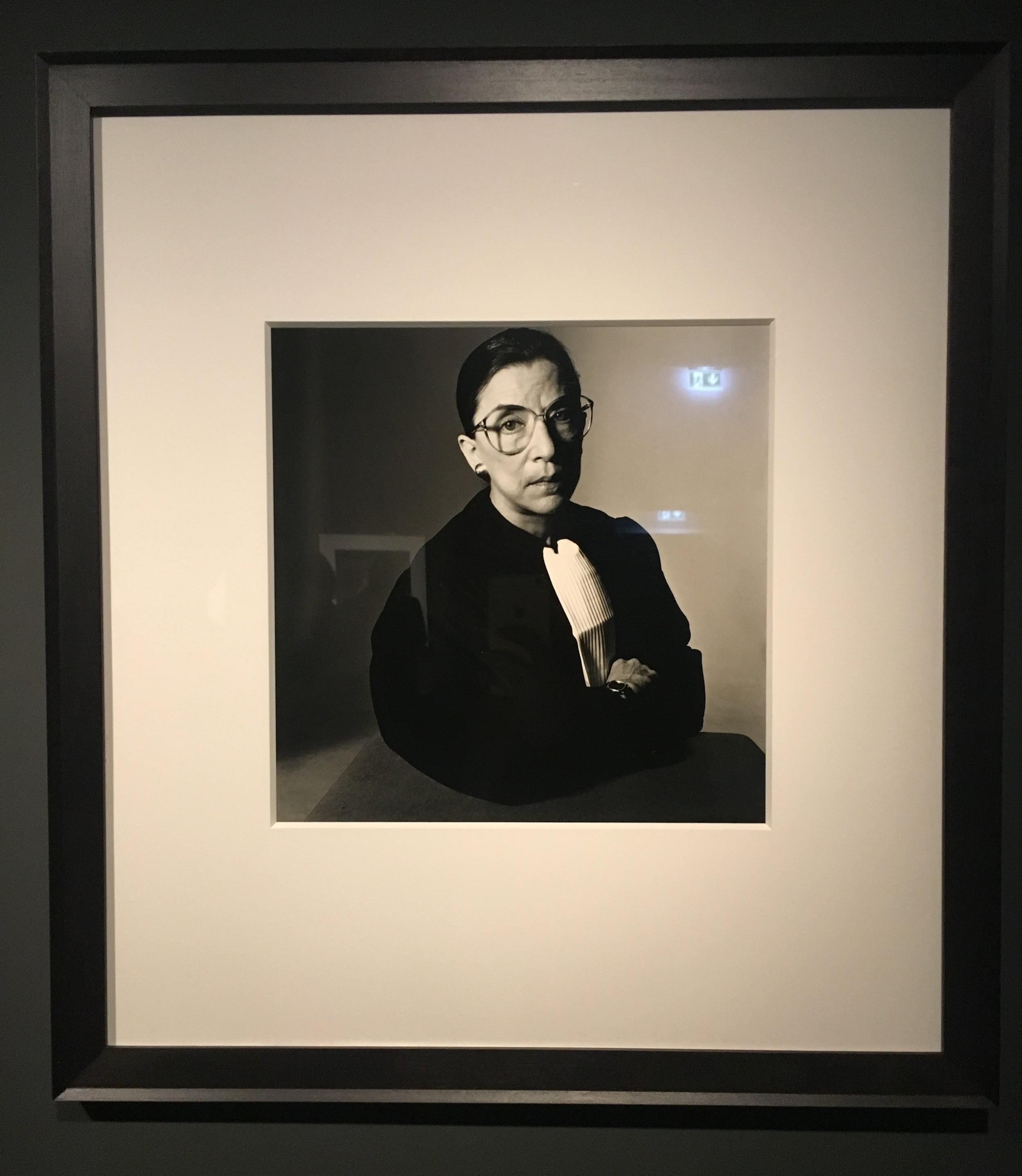 Ruth Bader Ginsburg.  Irving Penn.