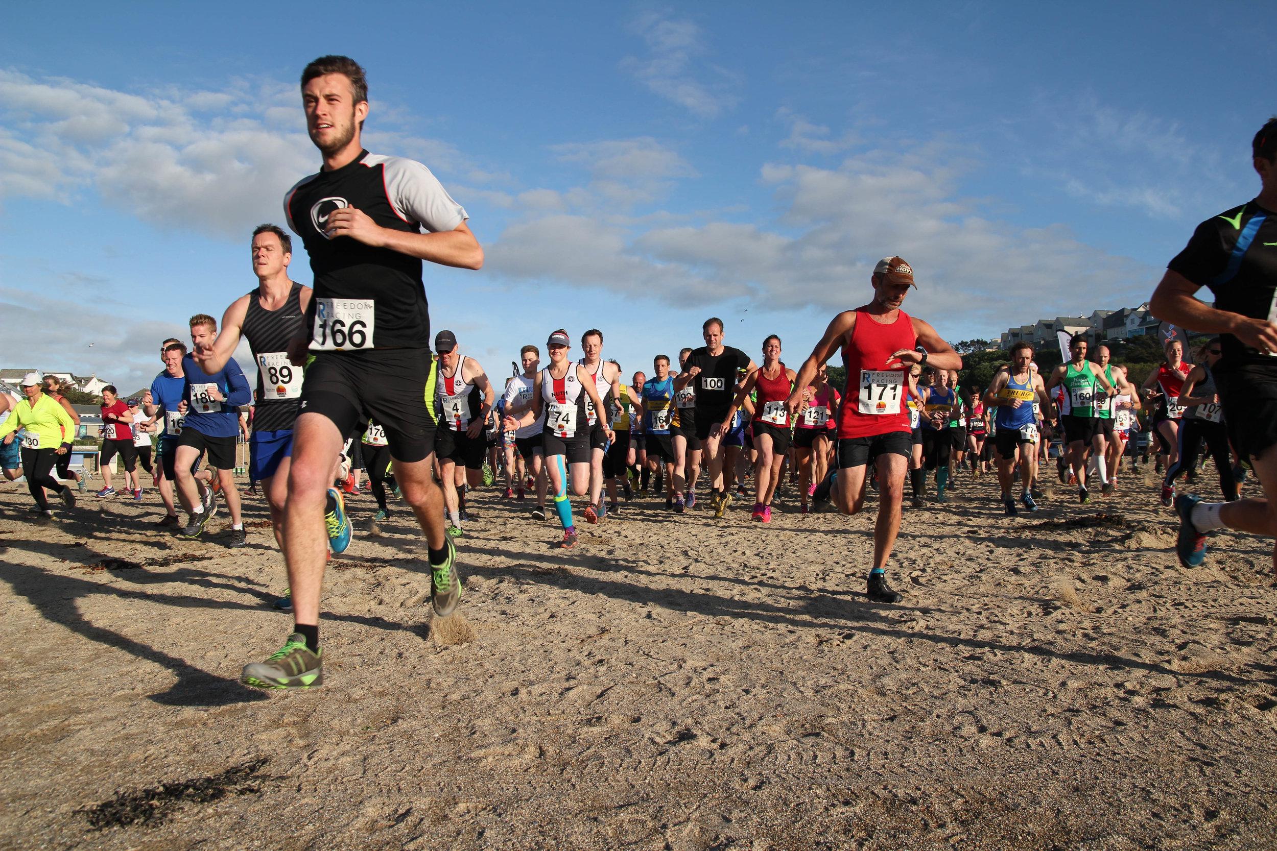 Summer Sessions Polzeath 10k running race in Cornwall.jpg