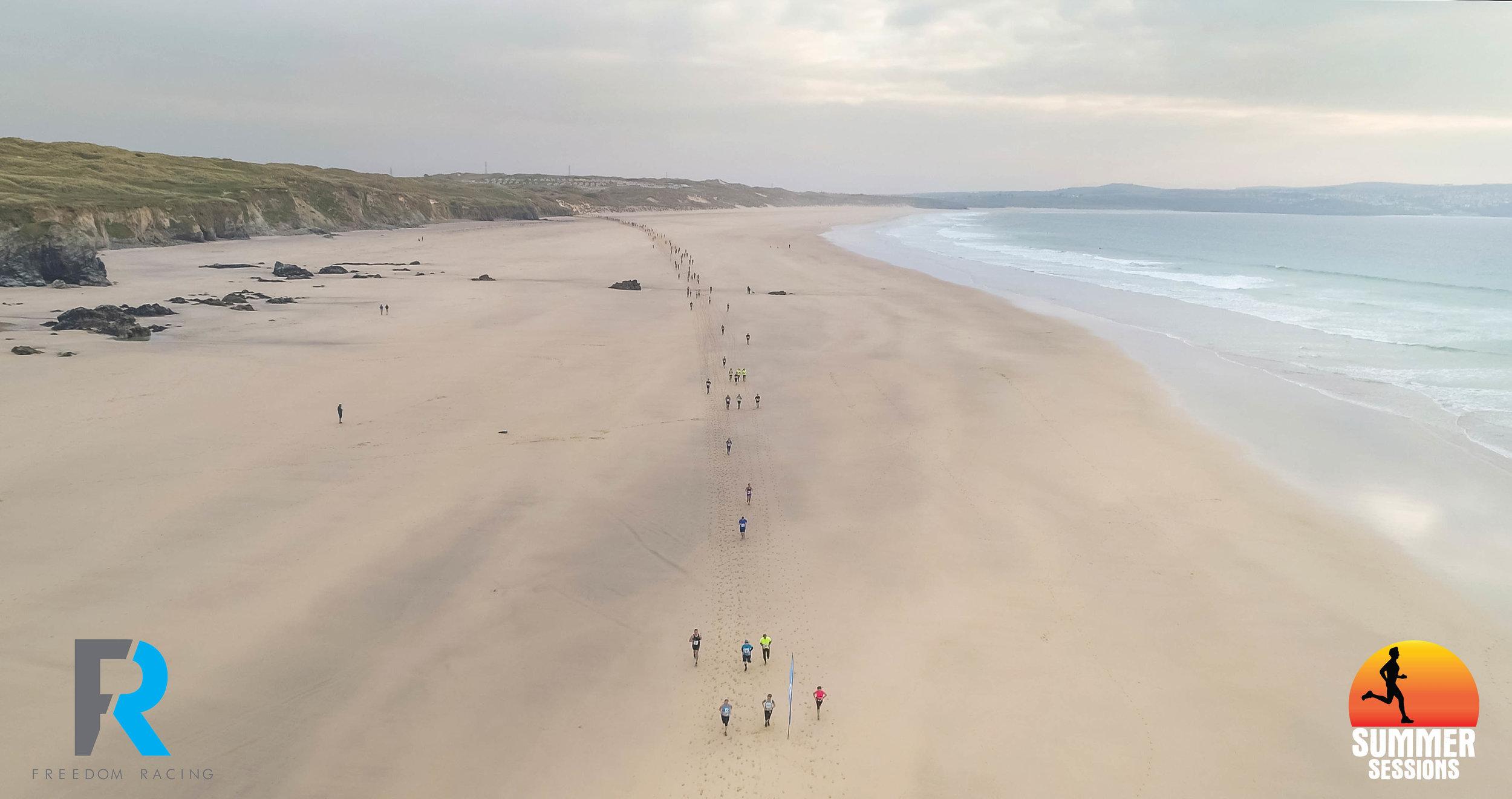 Summer Sessions Godrevy 10k running race in Cornwall.jpg