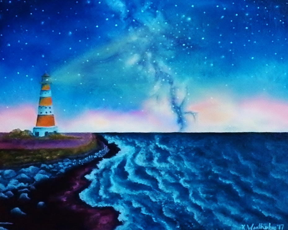 """Starry Shores"" , by Kari Weatherbee"