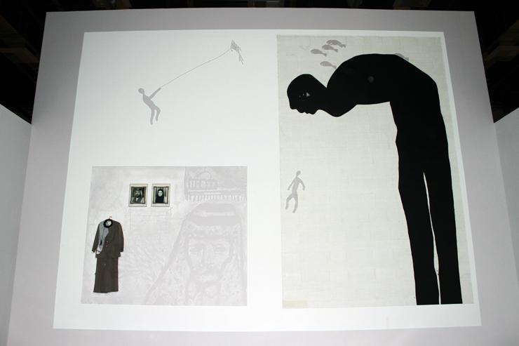 Binary Artists video installation Doha, Qatar