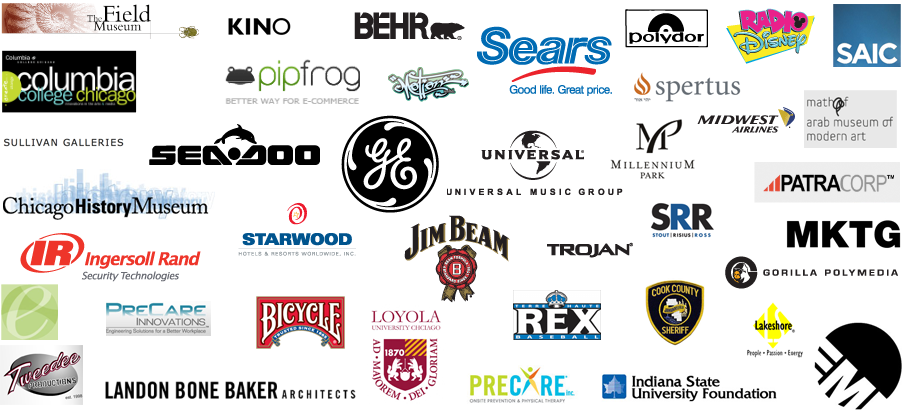 A few of the companies that we have worked with on projects