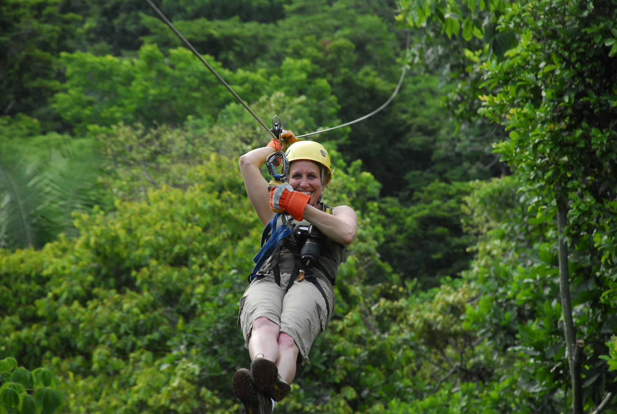 ZIP LINING - Arenal, CR
