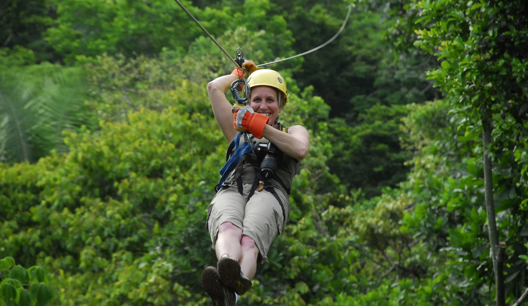 You want adventure? You got it! Join us on some of the most exhilarating ziplines in Costa Rica. This company follows our safety first mentality. Come with us for a birds eye view