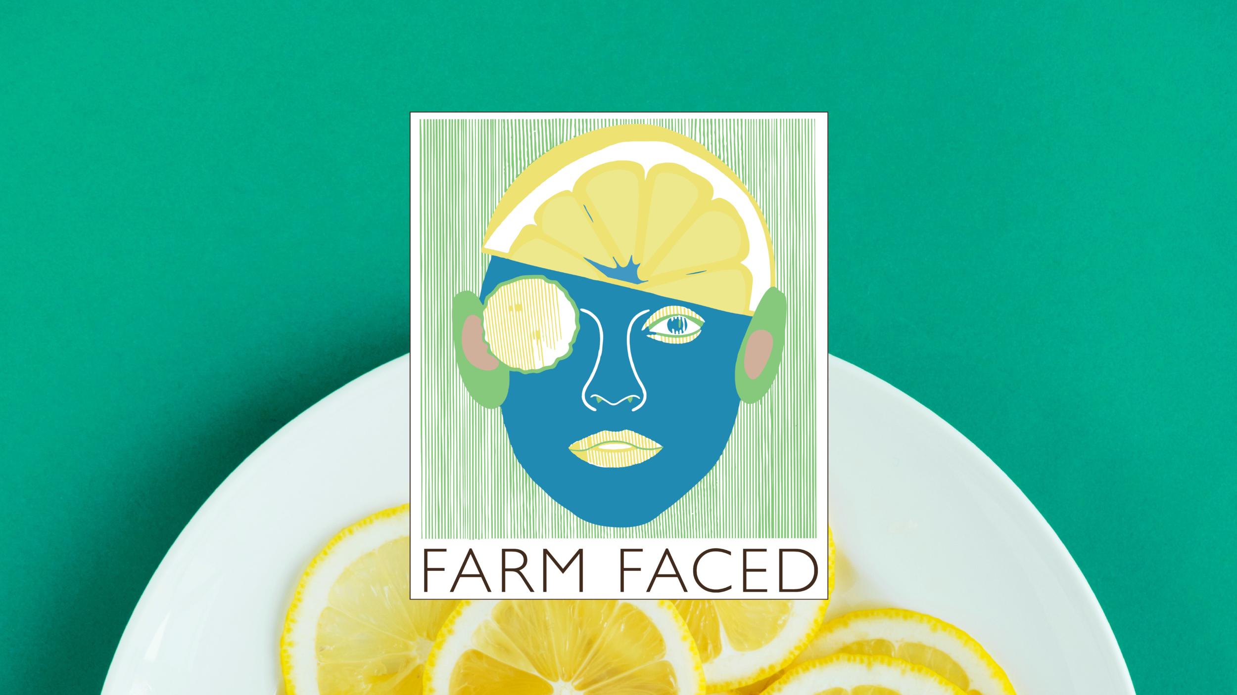Farm Faced  Visual Identity for a Detroit Community Schools Program