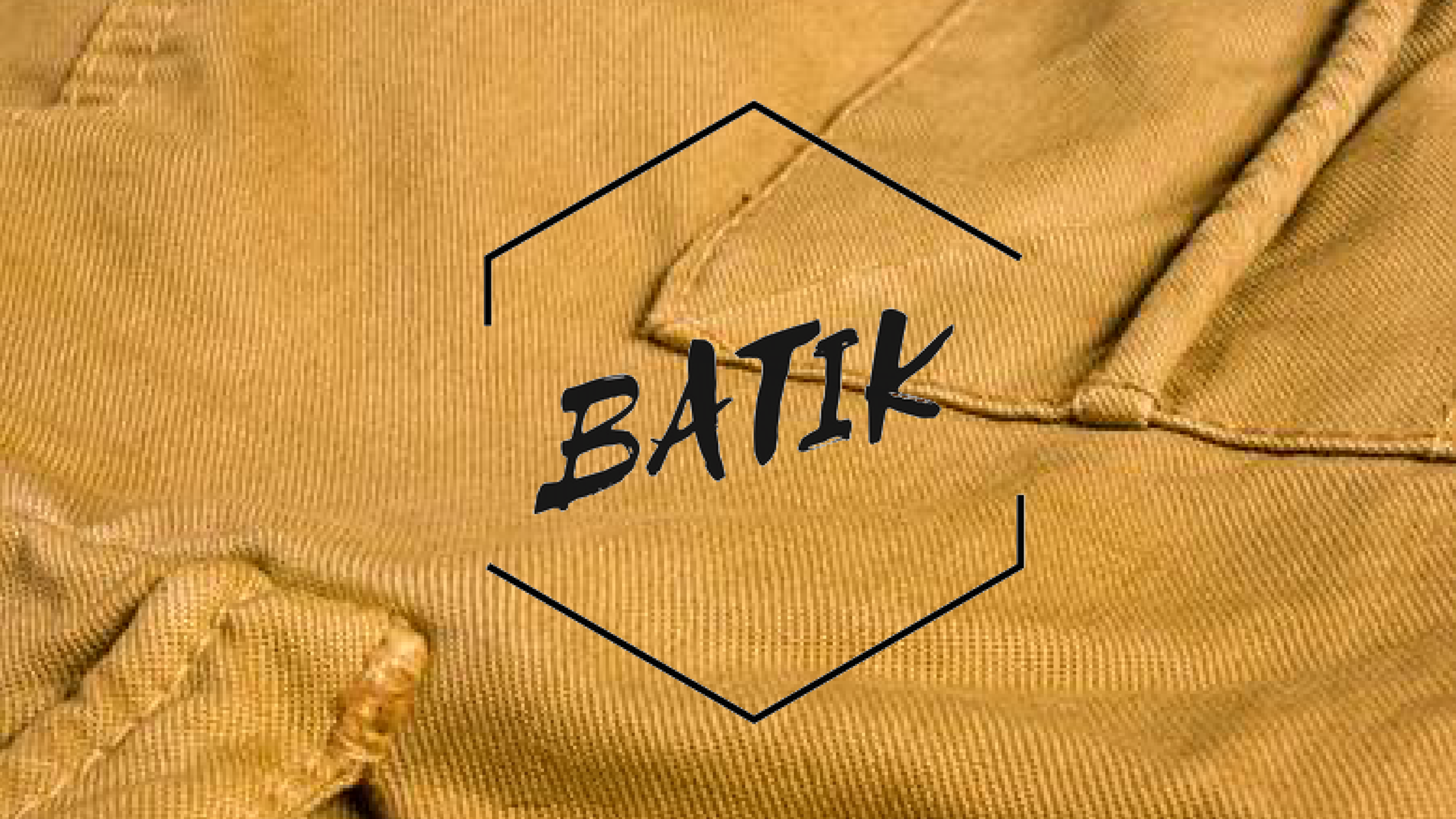 Batik Clothing Co.  Clothing tag and packaging design
