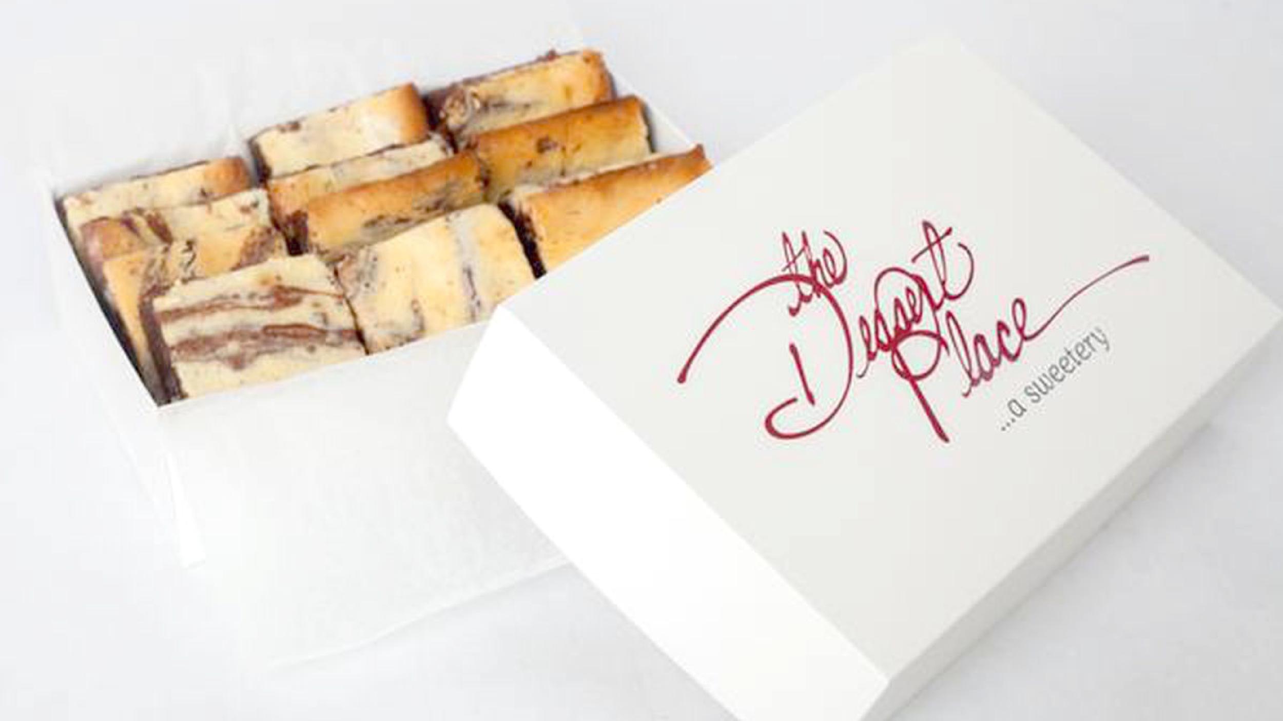 The Dessert Place  Postcard Mailer
