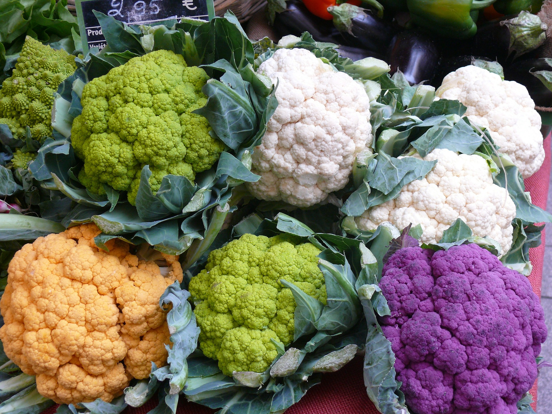 Spring Flowers - Cream of Cauliflower Soup