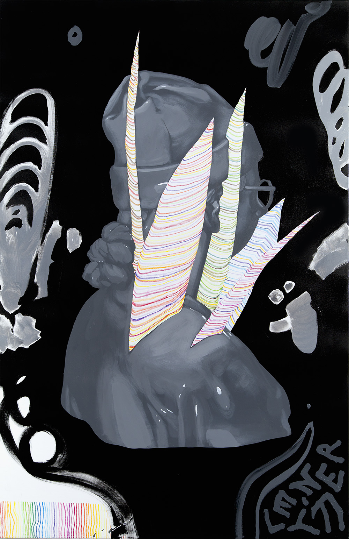 140x90cm mixed media on canvas