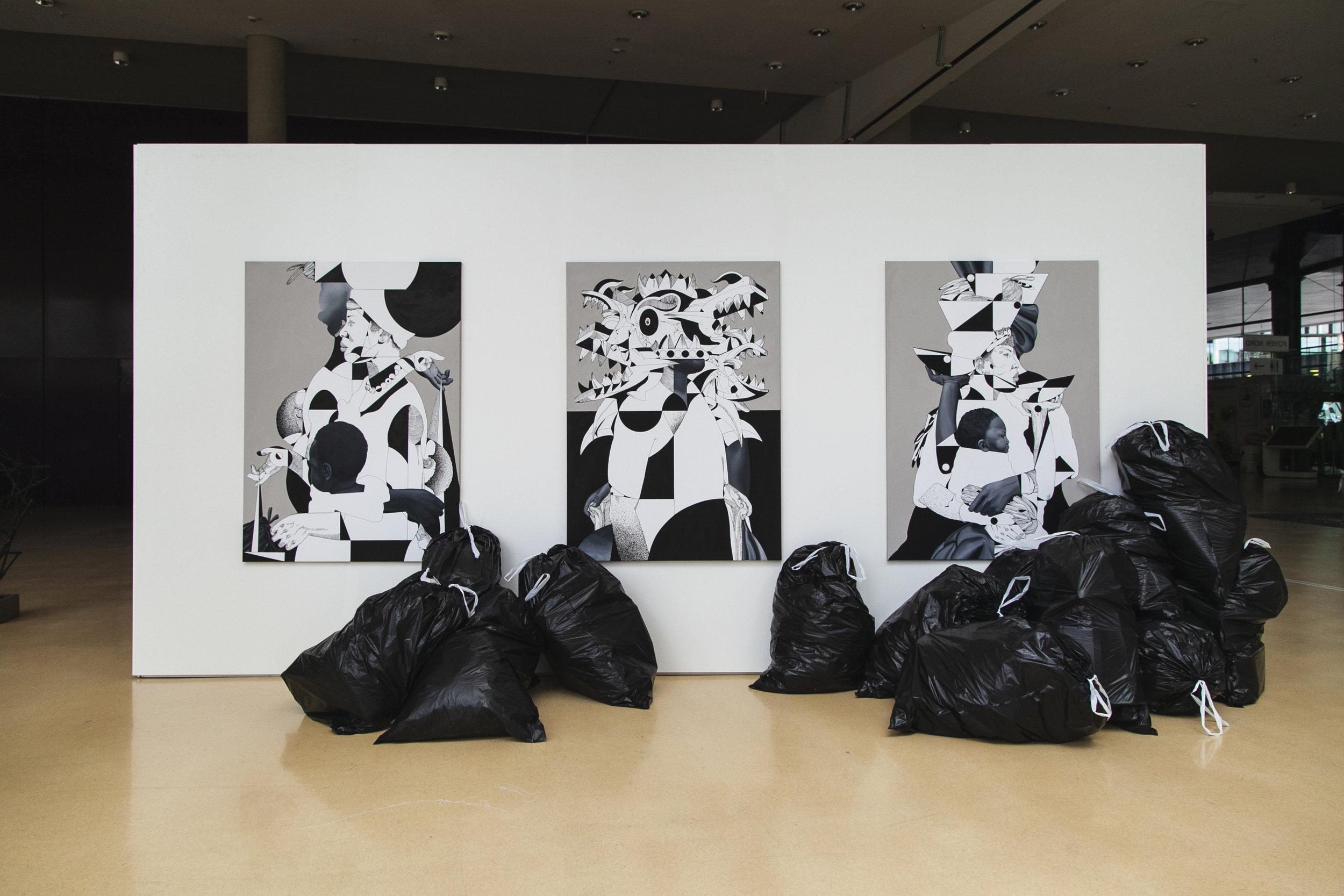 """100% Trash"" @ Stadthalle, Graz"