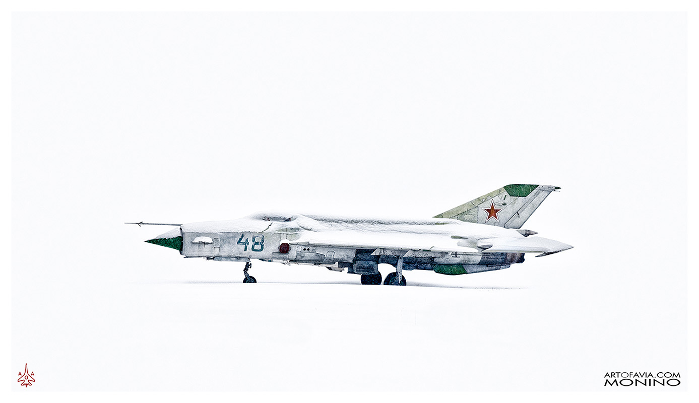Mikoyan-Gurevich MiG-21PFS - Art of Avia - Central Air Force Museum - Monino