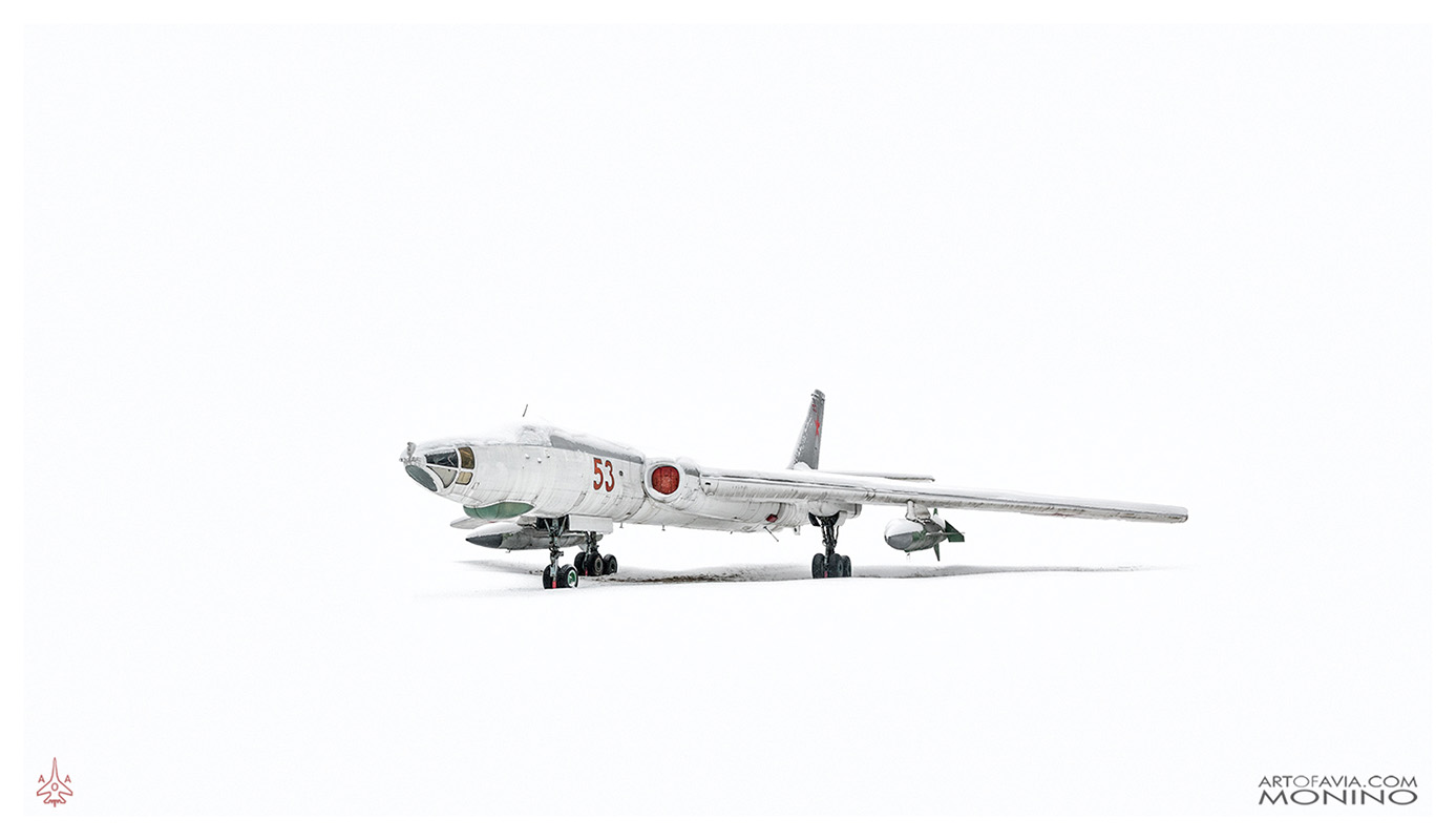Tupolev Tu-16 - Art of Avia - Central Air Force Museum - Monino