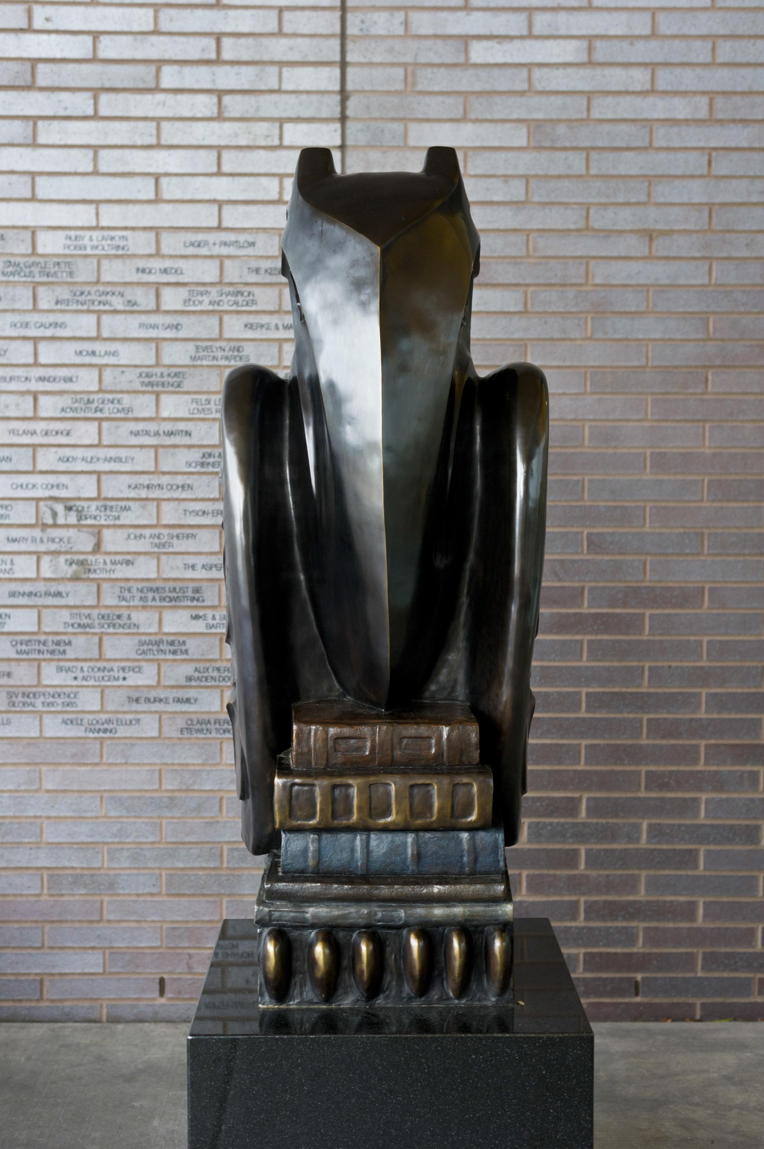 Eagle, bronze, 2015