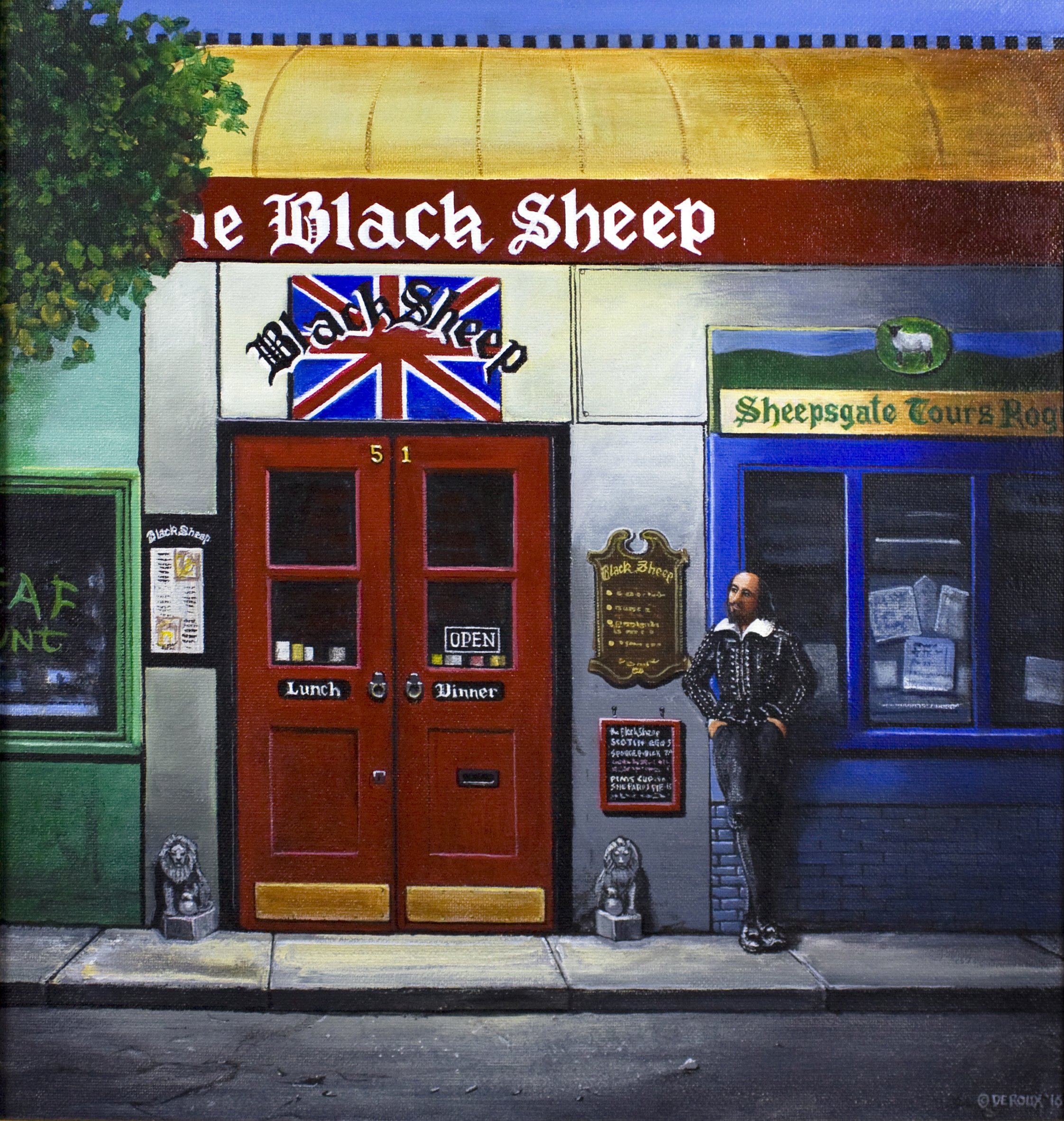 The Black Sheep  $3500.