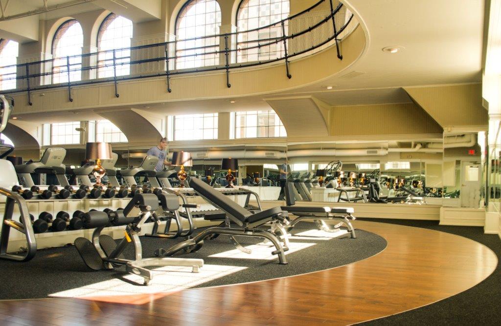 Executive workout area fitness Saint Paul Minnesota