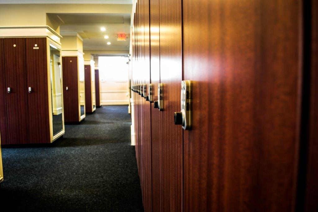 Locker rooms rental fitness workout Saint Paul Minnesota