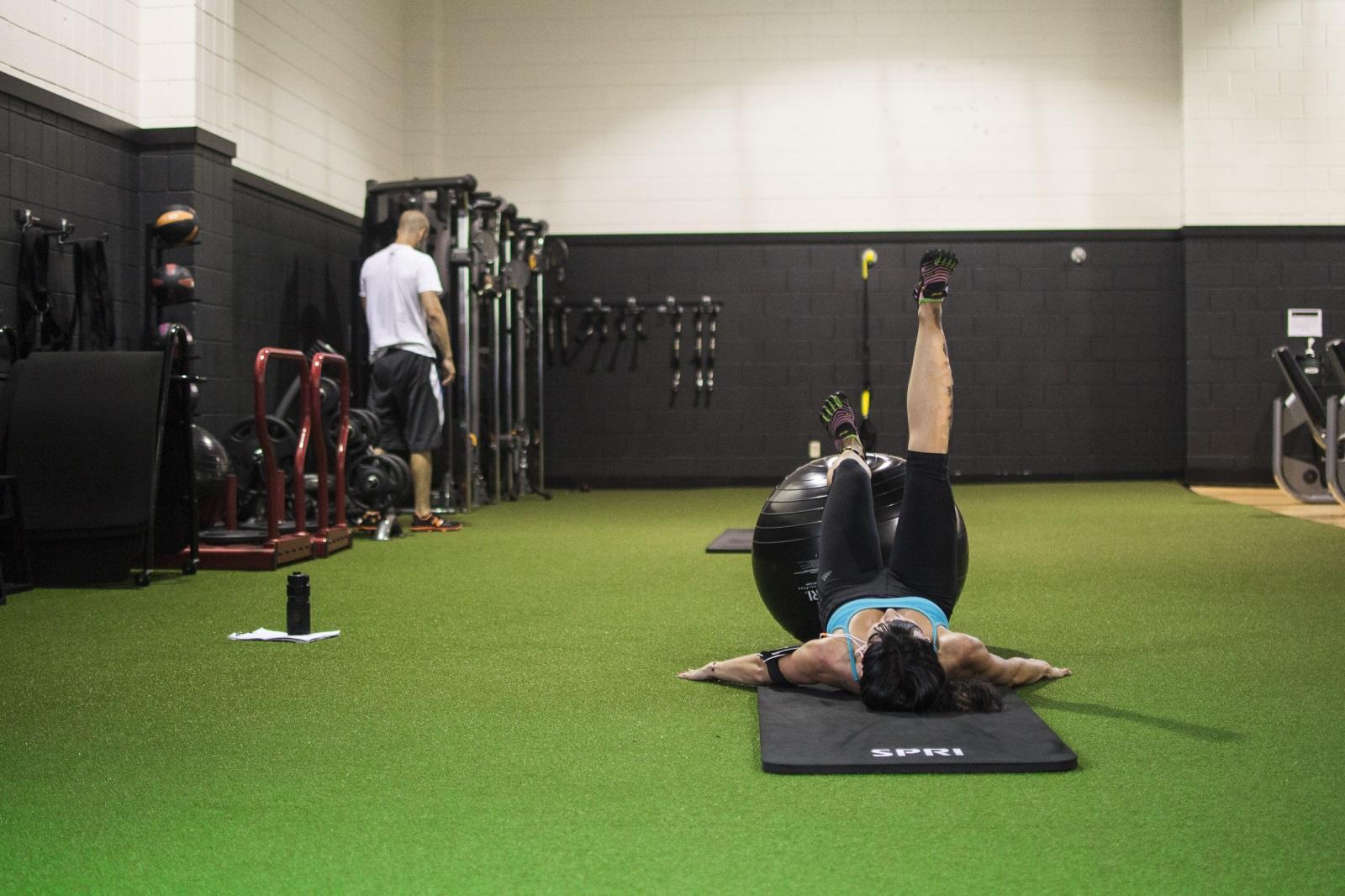 Turf Area Saint Paul Athletic Club Workout Fitness