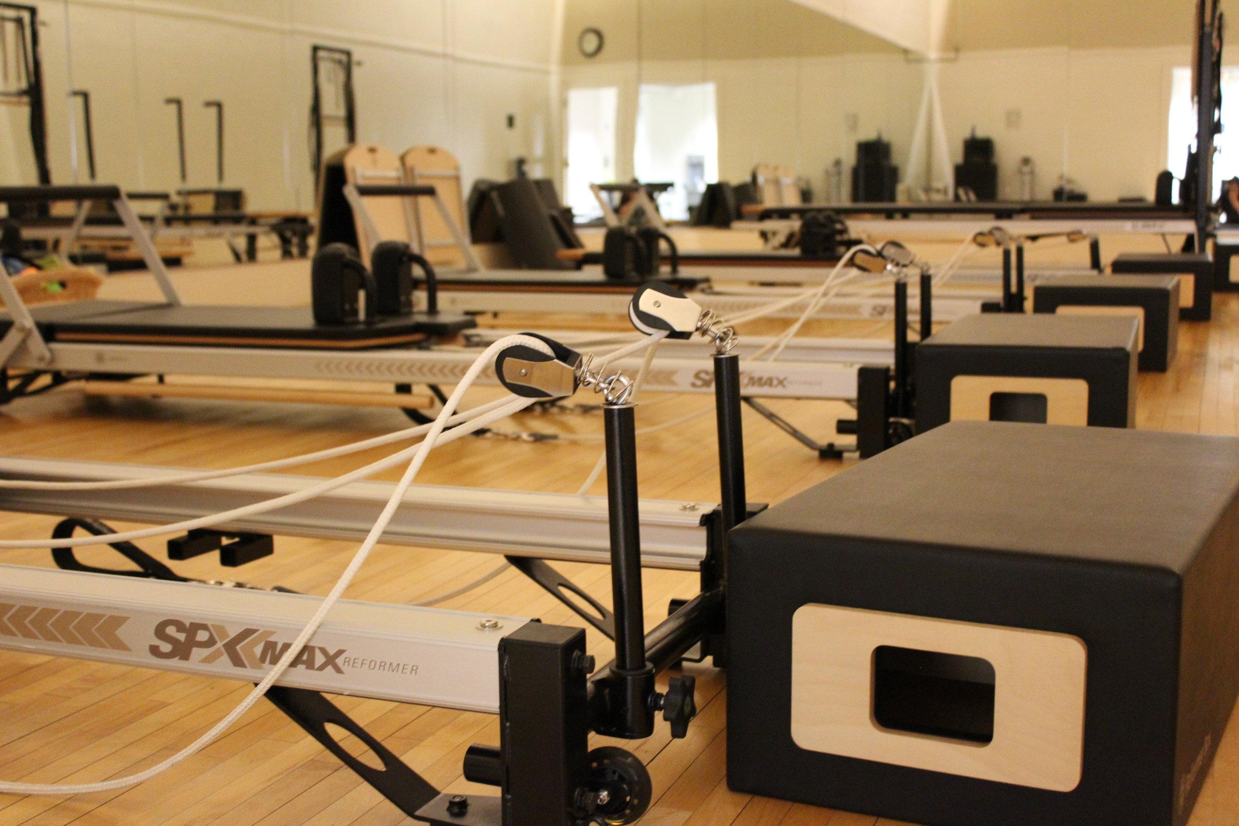 Pilates Studio STOTT Reformers