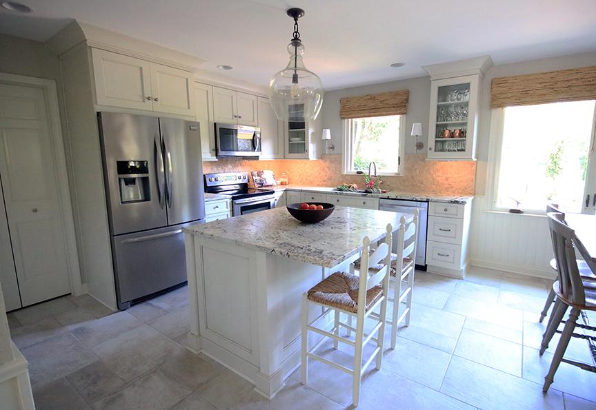 Brecken Ridge Kitchen Meridian Abbey Interior Design Indianapolis, IN