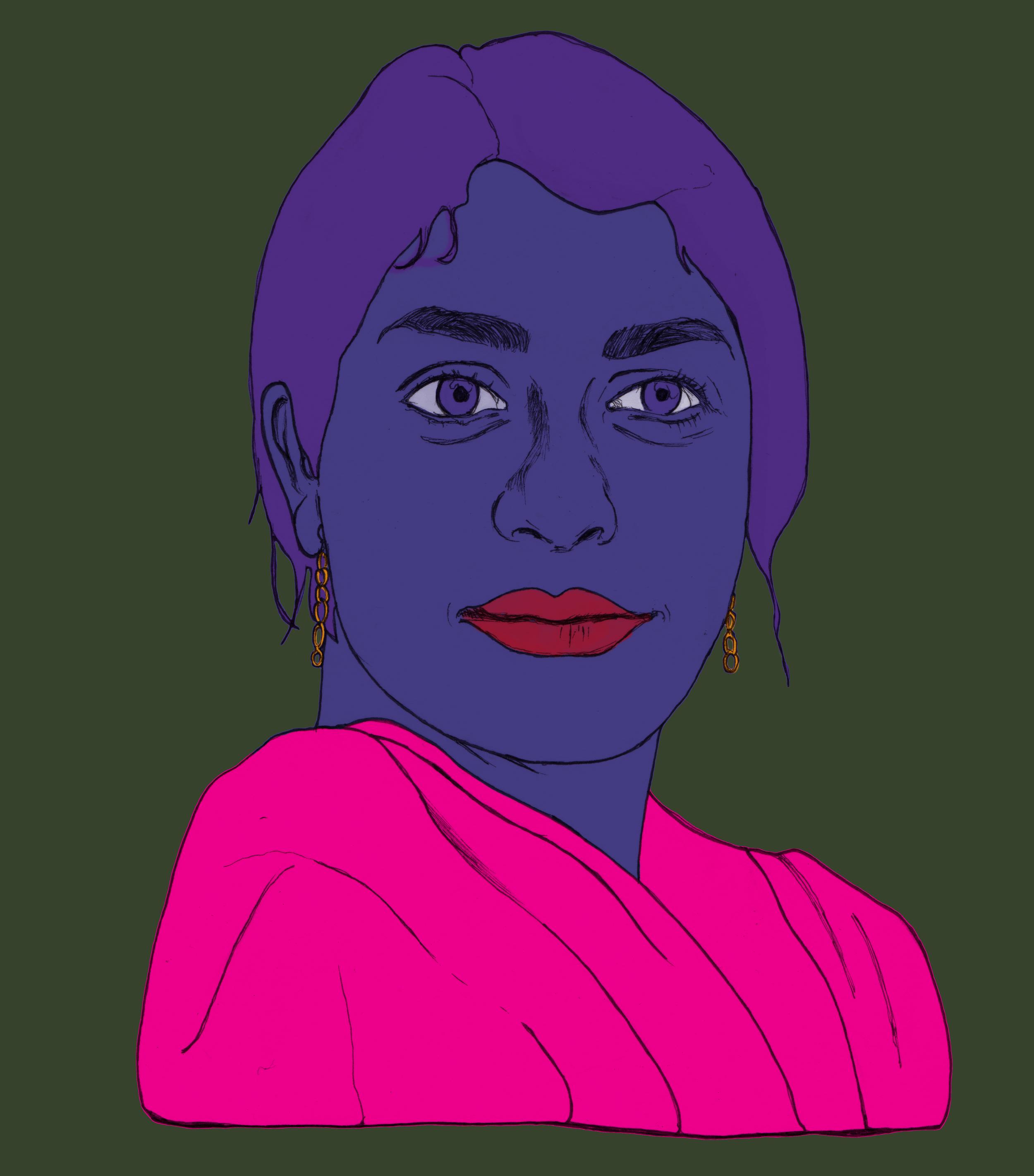 Illustration by  Soraya Gilanni Viljoen .