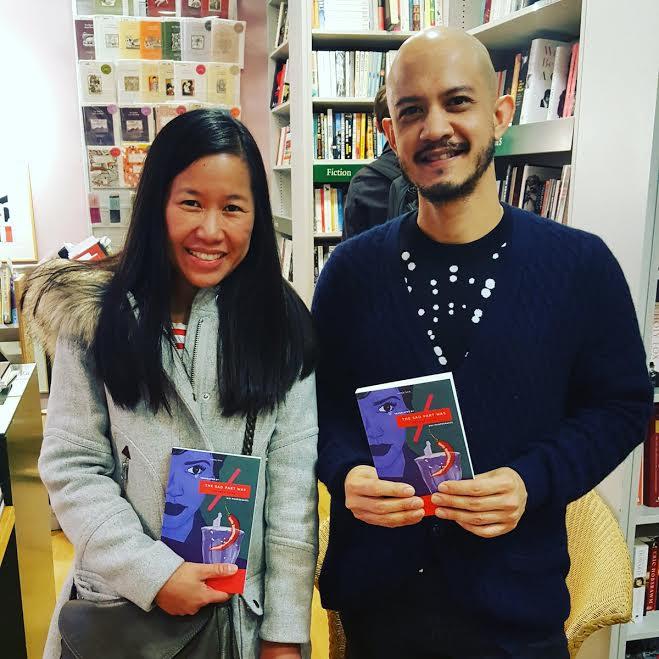 Our wonderful translator, Mui and author, Prabda.