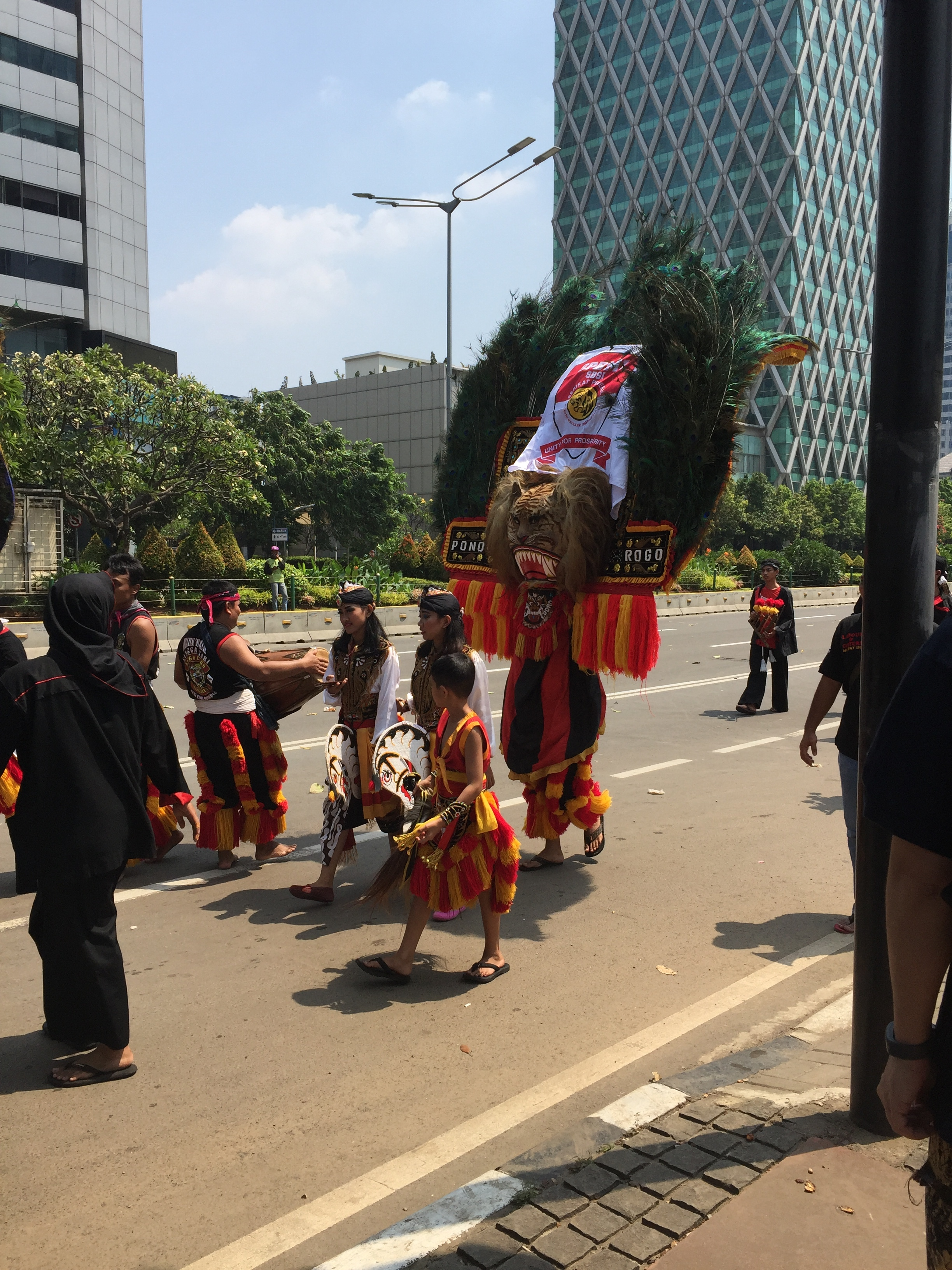 - Day 1:May Day /International Workers' Day! Labour activists and union members rally on the streets of Jakarta.